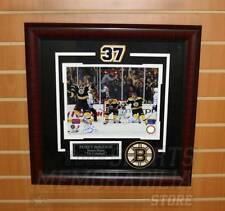 Patrice Bergeron Boston Bruins Signed Autographed Game 7 Comeback Framed 8x10