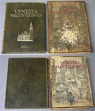 Editalia 1975 VENEZIA NELL'OTTOCENTO '800 - storia Arte