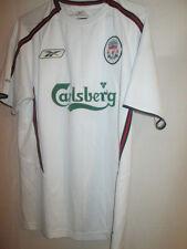 Liverpool 2003-2004 Away camiseta de fútbol Mans pequeñas Maglia Camiseta / 21983
