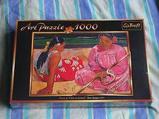 Art puzzle 1000 Trefl Paul Gauguin 1891 Woman of Tahiti on the beach new rare