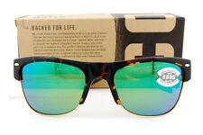 New Costa Del Mar Fishing Sunglasses PAWLEYS Tortoise Green Mirror 580G POLARIZE