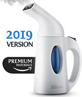 Travel Steamer For Clothes Powerful Handheld Portable Steam Iron. 7 Tasks-in-1