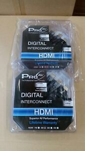 PRO AV DIGITAL INTERCONNECT HDMI CABLE 2 METER WITH SWIVEL ADAPTER 50% OFF