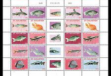 Sint Maarten - Postfris / MNH - Sheet Fish 2015