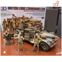 Tamiya 1/35 Military No.07 British Army LRDG command car North African doll 7