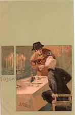 TOSCA di Puccini  ( 2 ) - Ediz. Ricordi - illustratore : Metlicovitz