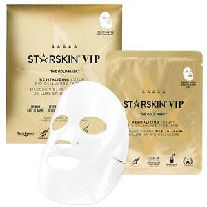 STARSKIN The Gold Mask™ Revitalising Coconut Bio-Cellulose Second Skin Mask