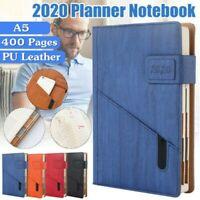 2020 Mois de Base Planificateur Agenda Journal Scheduler Rigide Housse