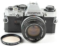 Olympus OM10 35mm SLR Film Camera w/ Zuiko Auto-S 50mmf/1.8 Lens