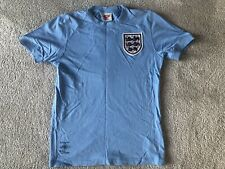 Umbro England Away 1970 Mexico World Cup Blue Shirt Bobby Moore 6 Reproduction M