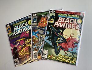 Marvel Premiere #51, #52, #53 Ft. Black Panther , Bronze Age!