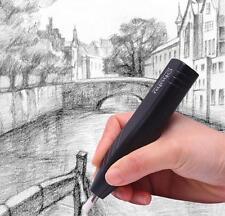 Portable Electric Eraser & 20pcs Refills Battery Operated Art Craft Handy Eraser