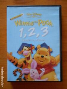 DVD WINNIE THE POOH: 1, 2, 3 - DESCUBRE LOS NUMEROS - WALT DISNEY (2P)