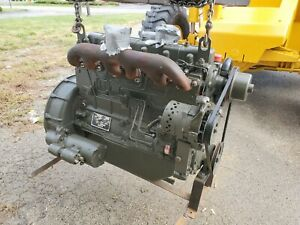 Hercules White D298ER 6 Cylinder Tractor Generator Multipurpose Diesel Engine