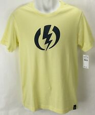 NEW Electric Standard Volt Yellow Mens XL Snow Skate Cotton Tee Shirt Msrp$22