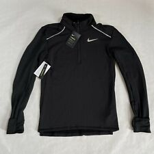 NWT Nike Therma Sphere Element 3.0 Running Top Black Reflective Small BV4713-010