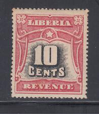 Liberia Cockrill # PC18 Mint HR 1906 REVENUE  l