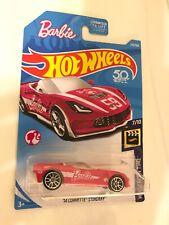 BARBIE '14 Corvette Stingray #273 HW Screen Time 2018 Hot Wheels