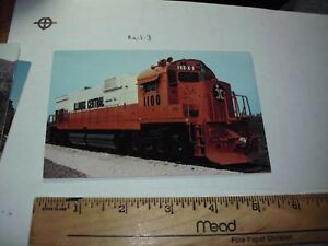 1968 Illinois Central RR Alco Century C-636 Diesel Loco 1100 Train station depot