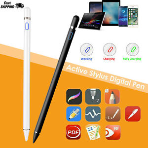 Capacitive Rechargeable Styli with 1.5mm Ultra Fine Tips Stylus Digital Pencil