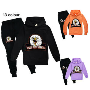 Eagle Fang Karate Kids Hoodie+Pants Tops&Trousers Casual Sportwear Tracksuit Set