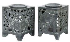Elephant Design Soap Stone Oil Burners