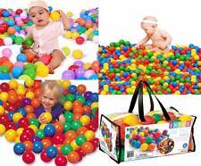 Boules de Plastique Coloré Q.ty 100 Diamètre 6 5 cm Intex 49602