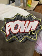 """Disney Pixar The Incredibles Ii Pillow Decorator Pow 15x12x3"""""""