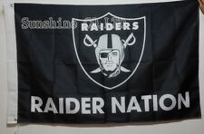 Oakland Raiders Raider Nation Flag