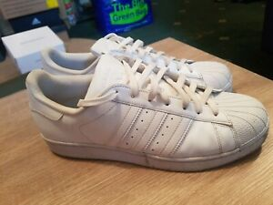 Adidas Superstar originals  White  Trainers - Mens Size UK 10 eu 44