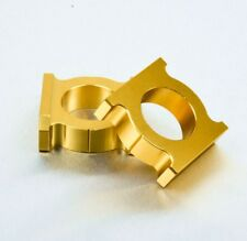 H10 Gold Chain Adjusting Adjuster Blocks Honda CBR900RR CBR929RR Fireblade 00-03