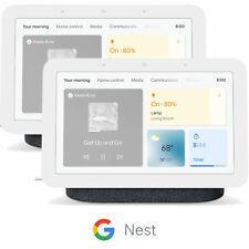 Concentrador de nido de Google Pantalla Inteligente 2nd generación con asistente, carbón GA01892-US (2 paquetes)