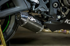 Street Slayer Carbon Fiber Slip On Exhaust M4 KA9944 16-17 Kawasaki ZX10R
