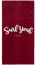 Roxy Pretty Simple Logo Towel - Holly Berry - New