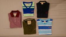 Hollister Men's Shirts M, L, XL Henley, Collard, V-neck Shirts - Lot of 5