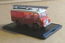 OXFORD DIECAST LAND ROVER FT6 CARMICHAEL NEW ZEALAND FIRE SERVICE 1:76 SCALE RED