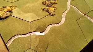 Geo-Hex Gamescape Riverscape Stream Set, Green Flock