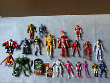 Lot of Figures: Mostly Power Rangers, A Few Ben 10, Plus - See Pictures - As Is