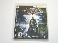 Batman: Arkham Asylum Game only (Sony PlayStation 3, PS3)