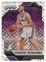 2016-17 Panini Prizm Basketball Starburst Prizm RC #113 Georgios Papagiannis