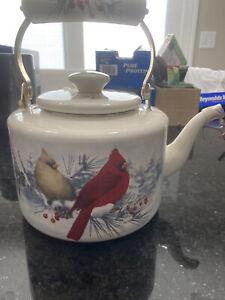 lenox winter greetings cardinal