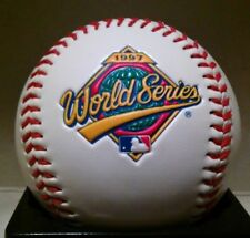 1997 WORLD SERIES INDIANS VS MARLINS ENGRAVED FOTOBALL BASEBALL RARE /LE