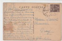 France Saint Raphael 1931 Boulevard Picture Stamps Post Card to Saone Ref 32129