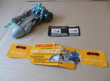mr freeze ice terror avec dragster urbain batman & robin 1997 complet loose