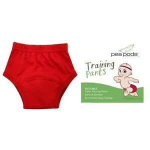 NEW Pea Pods Reusable Training Pants - Red from Baby Barn Discounts