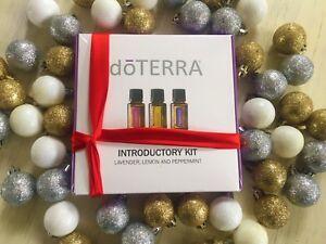 doTERRA Intro Kit Essential Oil 5ml Lemon Lavender Peppermint Christmas Present