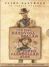 Für eine Handvoll Dollar & Für ein paar Dollar mehr (2005) 4-DVD / #11010