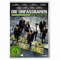 DVD Die Unfassbaren Now You See Me Franco Eisenberg Harrelson Ruffalo Thriller