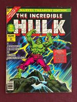 The Incredible Hulk Marvel Treasury #17 Very Good (4.0) - White Pages