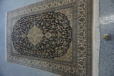 "5'8""x9'0"" Handmade Fine Persian Tabriz Wool/ Silk Rug"